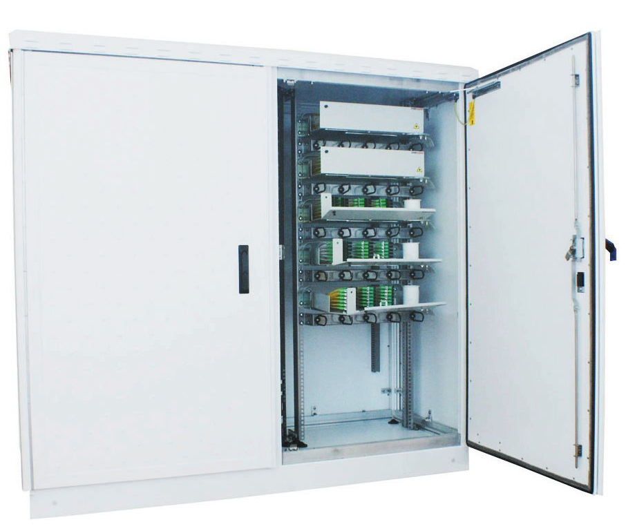 Outdoor Fibre Optical Distribution Hub Cabinet