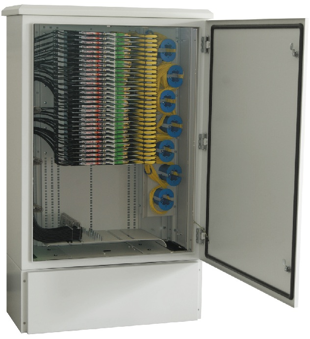 Fttx Outdoor External Optical Fibre Cabinet Ip Rated