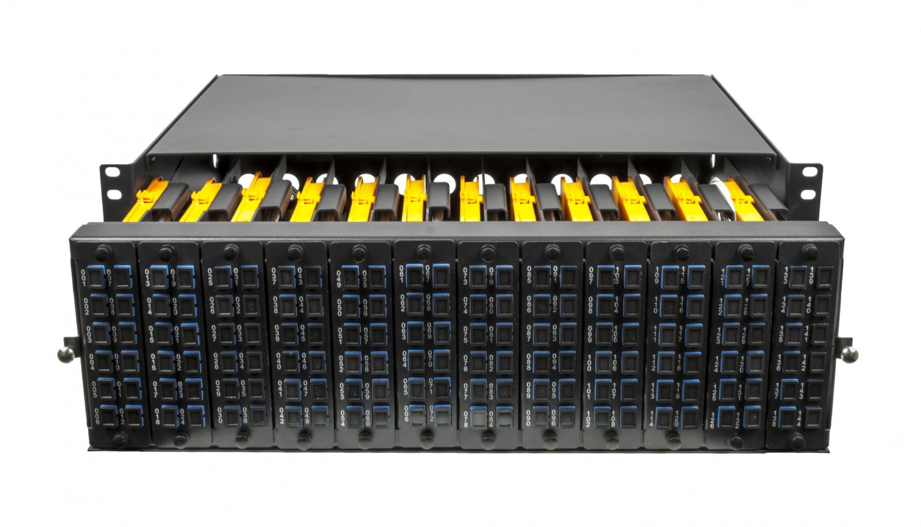 Lc 288 Fibre Mgx Modular Patch Panel 3u Odf