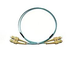 SC - SC Multimode fibre patch lead 50/125 OM3 Duplex 2m