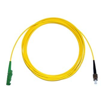 E2000 Angled - FC Singlemode fibre patch cable Simplex 0.5m