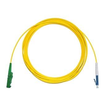 E2000 Angled - LC Singlemode fibre patch cord Simplex 4m