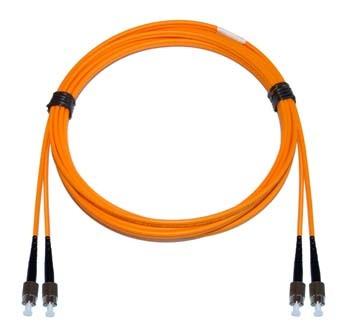 FC - FC Multimode fibre patch cord 62.5/125 OM1 Duplex 4m