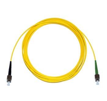 FC - FC/APC Singlemode fibre patch cord Simplex 15m