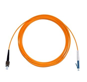 FC - LC Multimode fibre patch cord 62.5/125 OM1 Simplex 10m
