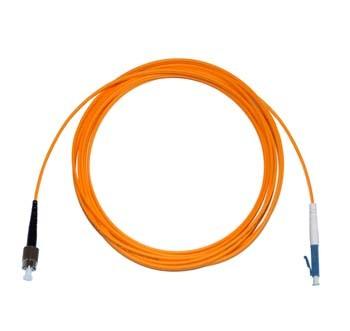 FC - LC Multimode fibre patch lead 62.5/125 OM1 Simplex 5m