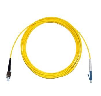 FC - LC Singlemode fibre patch cord Simplex 30m