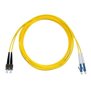 FC - LC Singlemode fibre patch cable Duplex 12m