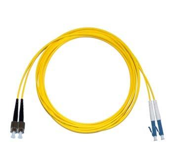 FC - LC Singlemode fibre patch cord Duplex 20m