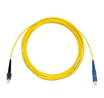 FC - SC Singlemode fibre patch cable Simplex 15m