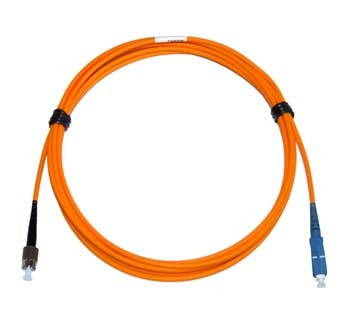 FC - SC Multimode fibre patch lead 62.5/125 OM1 Simplex 3m
