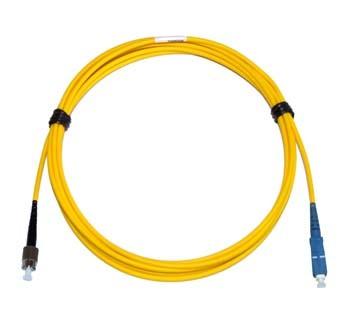 FC - SC Singlemode fibre patch lead Simplex 40m