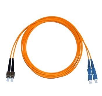 FC - SC Multimode fibre patch lead 50/125 OM2 Duplex 3m