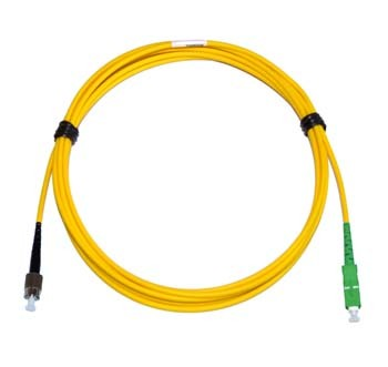FC - SC/APC Singlemode fibre patch cord Simplex 20m