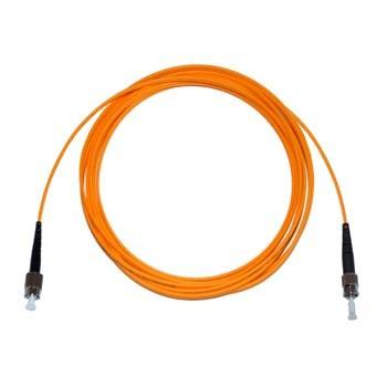 FC - ST Multimode fibre patch cord 62.5/125 OM1 Simplex 3m