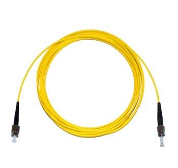 FC - ST Singlemode fibre patch cable Simplex 1m