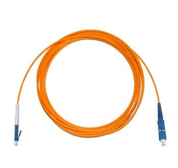 LC - SC Multimode fibre patch lead 62.5/125 OM1 Simplex 25m