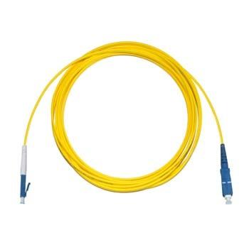 LC - SC Singlemode fibre patch cable Simplex 7m