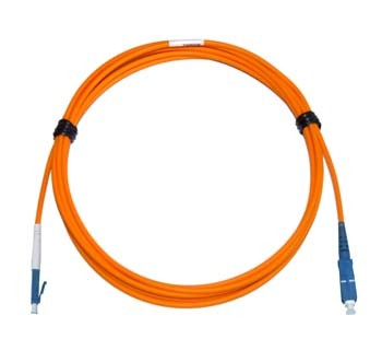 LC - SC Multimode fibre patch cable 62.5/125 OM1 Simplex 2m