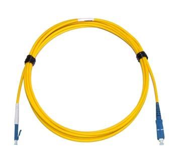 LC - SC Singlemode fibre patch cable Simplex 3m