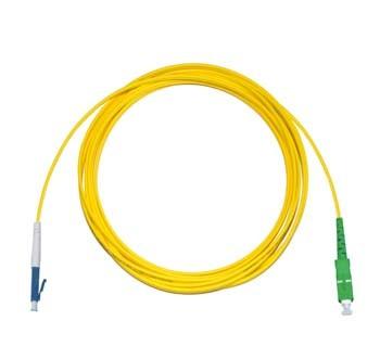 LC - SC/APC Singlemode fibre patch lead Simplex 20m