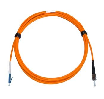 LC - ST Multimode fibre patch cable 62.5/125 OM1 Simplex 2m