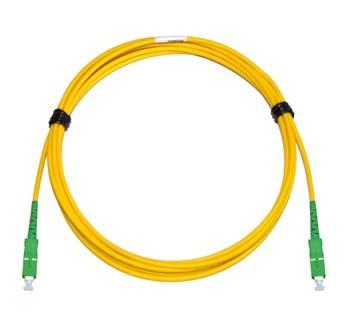 SC/APC - SC/APC Singlemode fibre patch cord Simplex 15m