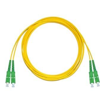 SC/APC - SC/APC Singlemode fibre patch lead Duplex 7m