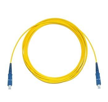 SC - SC Singlemode fibre patch lead Simplex 15m