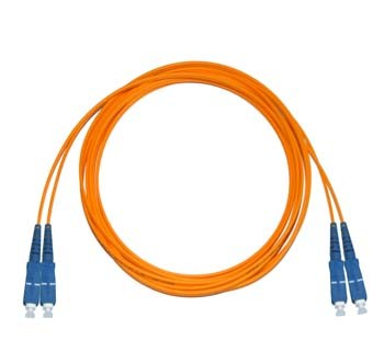 SC - SC Multimode fibre patch cable 50/125 OM2 Duplex 0.5m