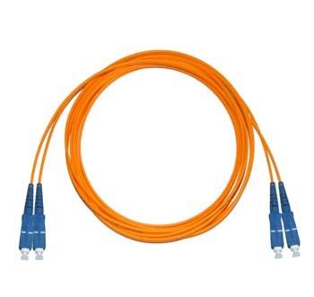 SC - SC Multimode fibre patch cable 50/125 OM2 Duplex 1m