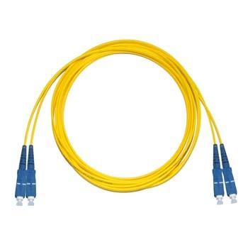 SC - SC Singlemode fibre patch cable Duplex 0.5m
