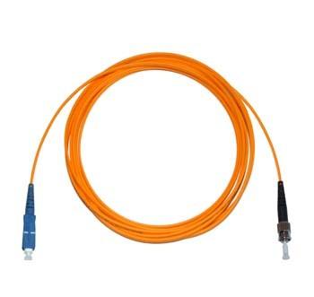 SC - ST Multimode fibre patch cable 62.5/125 OM1 Simplex 25m