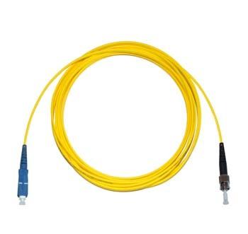 SC - ST Singlemode fibre patch cable Simplex 1m