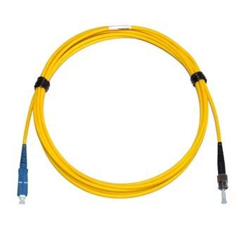 SC - ST Multimode fibre patch cable 62.5/125 OM1 Simplex 15m