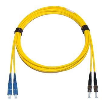 SC - ST Multimode fibre patch lead 62.5/125 OM1 Duplex 3m