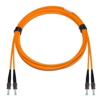 ST - ST Multimode fibre patch cord 62.5/125 OM1 Duplex 15m