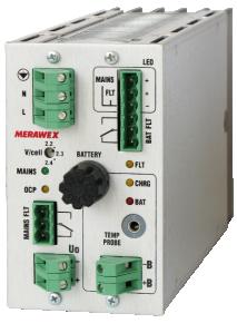 ZM24V12A-300A - 24V / 12A Controlled buffer battery UPS