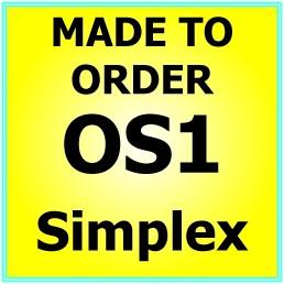 Made to order OS1 G657A Singlemode Simplex Fibre Patch Cable