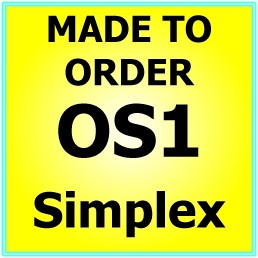 Made to order  OS1 G652D Singlemode Simplex Fibre Patch Cable