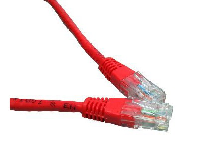 Red 1m Cat6 Ethernet cable - Patch cable RJ45 UTP