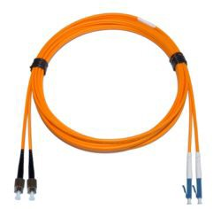 FC - LC Multimode fibre patch cable 62.5/125 OM1 1.6mm Duplex 2m