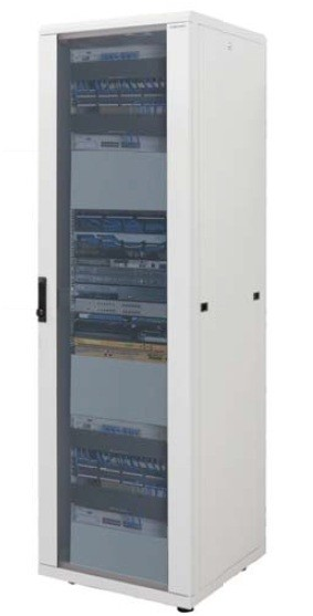 42U Data Cabinet  800 x 800 Flat Pack - Collection Only
