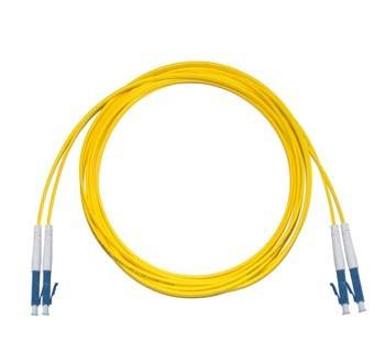 LC - LC Singlemode fibre patch lead  1.6mm Duplex 0.85m