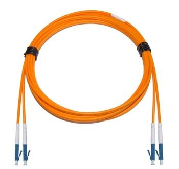 LC - LC Multimode fibre patch lead 62.5/125 OM1 Duplex 12m