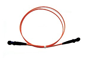 MTRJ fibre patch lead multimode 62.5/125 OM1 Duplex 1m