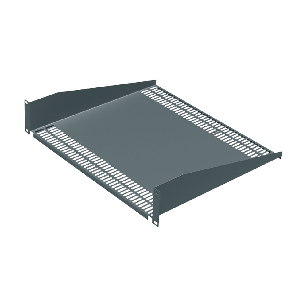 Cantilever modem shelf 500mm 3U height grey