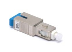 10 dB SC in line Fibre Attenuator Singlemode