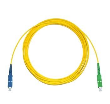 SC - SC/APC 9? Singlemode fibre patch cable Simplex 15m