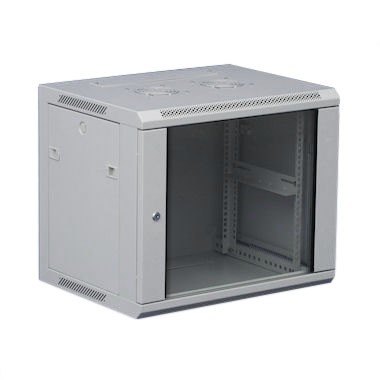6U Wall Mount Data Cabinet Grey 600mm x 500mm